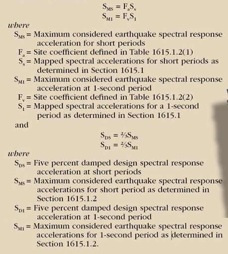 Seismic Formula